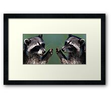 """OK.....We Promise!"" Framed Print"