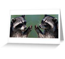 """OK.....We Promise!"" Greeting Card"