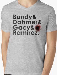 Serial Killer Mens V-Neck T-Shirt