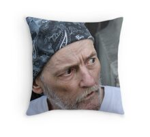 Homeless in Ottawa Throw Pillow