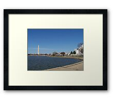 Tidal Basin Framed Print