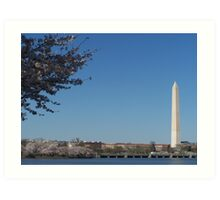 Washington Monument II Art Print