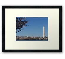 Washington Monument II Framed Print