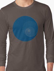 Golden Ratio Circles + Spiral Long Sleeve T-Shirt