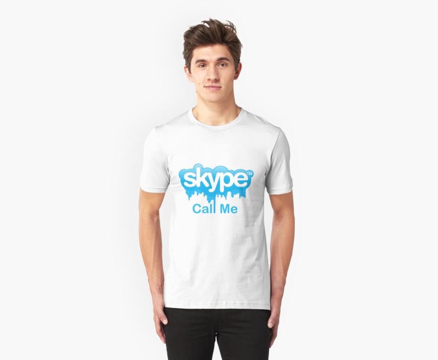 Skype Call Me by MikeGerkin
