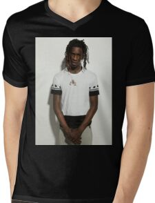 Young Thug Mens V-Neck T-Shirt