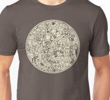 Circle of Doodles  Unisex T-Shirt