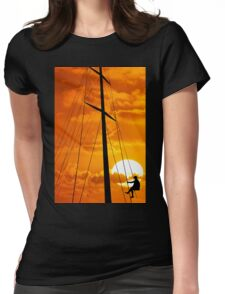 Yachtsman Womens Fitted T-Shirt