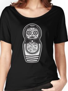 Day of the Dead Russian Doll Women's Relaxed Fit T-Shirt