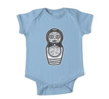 Day of the Dead Russian Doll One Piece - Short Sleeve