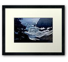 Saskatchewan Glacier Framed Print