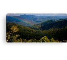 Mt Mee Landscape - Queensland Canvas Print