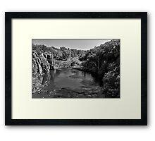 Sioux River Framed Print