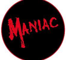 Maniac -  Logo Design #2 - Horror Movie Halloween  by NoirGraphic