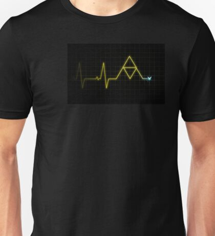 Hey, Listen! - Triforce Heartbeat Unisex T-Shirt
