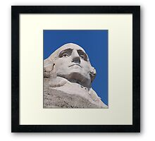 George Washington, Mount Rushmore National Memorial .3 Framed Print