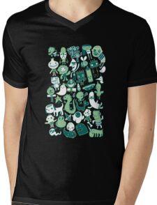 Gloopy Doodles Mens V-Neck T-Shirt