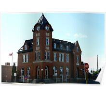 Old Post Office,Battleford,Sask. Canada Poster