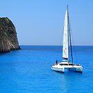 Catamaran - Shipwreck Cove by Honor Kyne