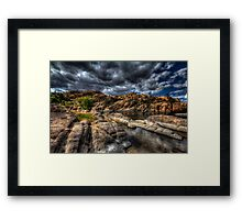 Spread Out Framed Print