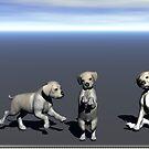 WIP # 2 - Puppy Models by Jaclyn Hughes