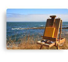 en plein air for a summer day Canvas Print