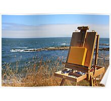 en plein air for a summer day Poster