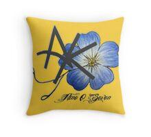 AK Don't Forget Me Throw Pillow