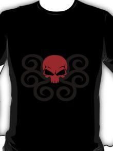 Hydra Red Skull Logo T-Shirt