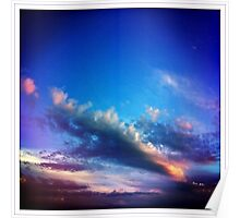 saturday sky Poster
