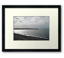 Awakening - Silvery Sea Framed Print