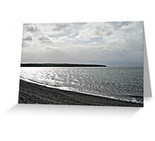 Awakening - Silvery Sea Greeting Card