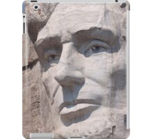 Abraham Lincoln, Mount Rushmore National Memorial iPad Case/Skin