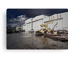 Factory Ground Canvas Print