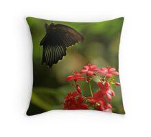 Fluttering In Throw Pillow