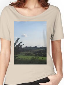 Iowa's Countryside  Women's Relaxed Fit T-Shirt