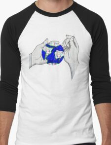 Mend the World Men's Baseball ¾ T-Shirt
