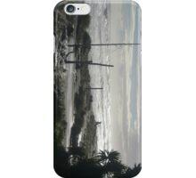 Troubled beach iPhone Case/Skin