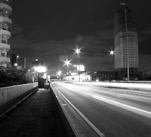 Departure or Arrival? - Night in Bangkok  by vanyahaheights