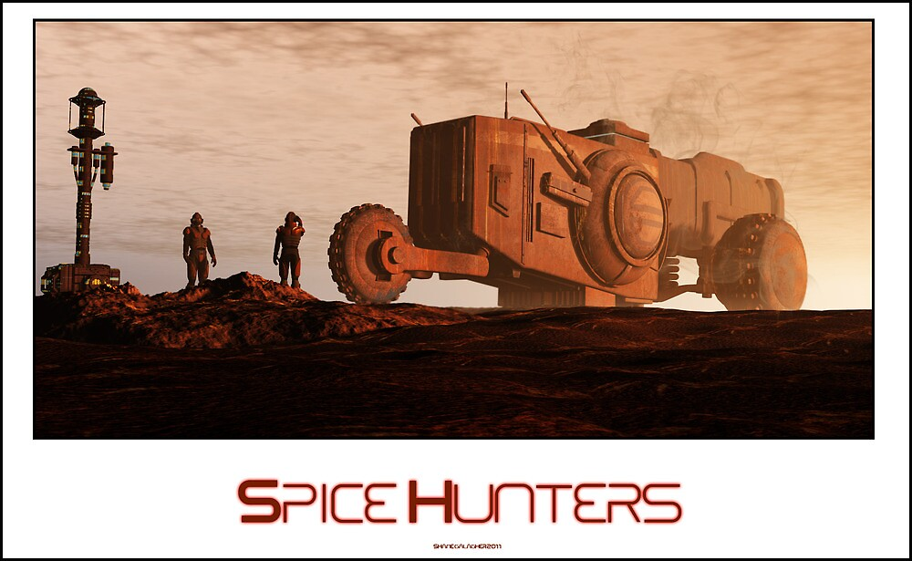 Spice Hunters by Shane Gallagher