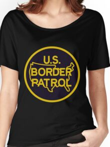 US Border Patrol Seal Sticker Women's Relaxed Fit T-Shirt