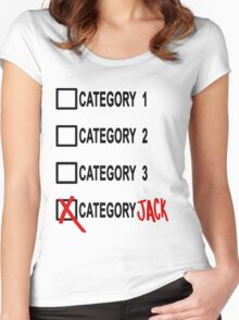 Category JACK Women's Fitted Scoop T-Shirt