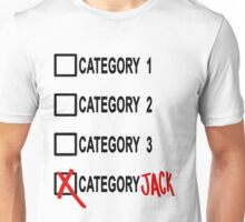 Category JACK Unisex T-Shirt