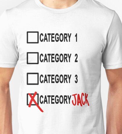 Category JACK Unisex T-Shirt