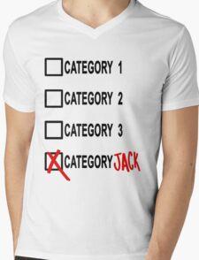 Category JACK Mens V-Neck T-Shirt