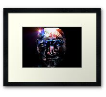 Reject Android Bin it Framed Print
