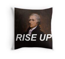 Rise Up Alexander Hamilton Throw Pillow