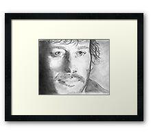 JT Framed Print