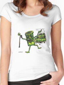 40 s granpa Women's Fitted Scoop T-Shirt