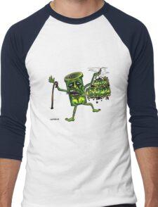 40 s granpa Men's Baseball ¾ T-Shirt